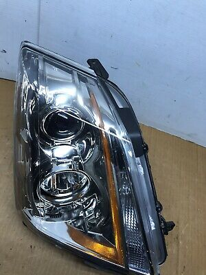 2008-2014 Cadillac CTS Headlight Passenger Right RH 08-14 Halogen