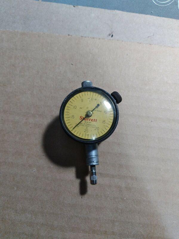 Starrett No. 81-145 Dial Indicator