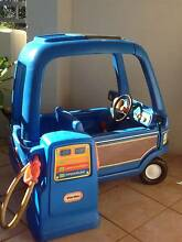 Vintage Little Tikes Blue Van Ride On Toy & Tikes Petrol Pump Abbotsford Canada Bay Area Preview