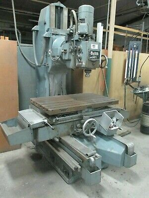 Used Boko Mf1 Vertical Milling Boring Machine W Universal Head Table