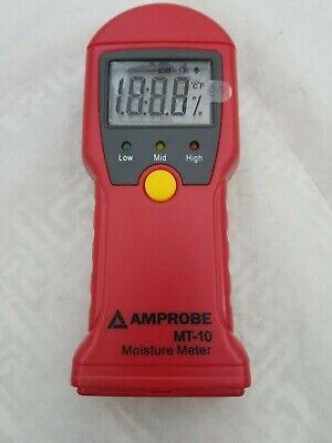 Amprobe Mt-10 Moisture Meter New Free Shipping