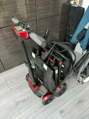 Adult auto folding 4 wheeled mobile scooter