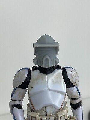 "Custom Star Wars Clone Trooper ARF Helmet Black Series 6"" 1/12"