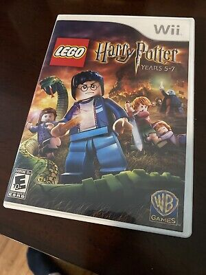 LEGO Harry Potter: Years 5-7 (Nintendo Wii, 2011) Complete CIB w/ Manual Tested