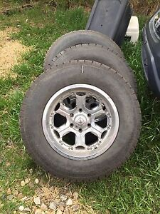 6 bolt Ford rims