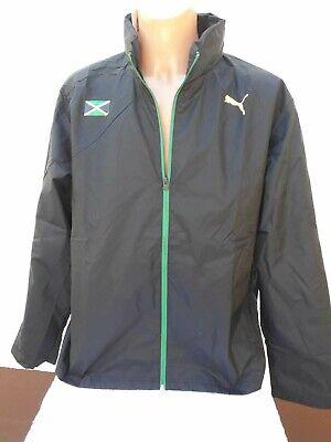 e Chaqueta Jacke Puma Regenjacke Rain Jacket Rasta Shirt XXL (Rasta Fußball)