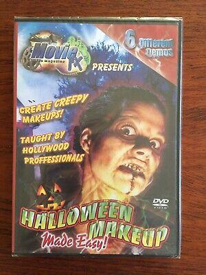 Horror Makeup Tutorial (Halloween Makeup Made Easy NEW DVD - Movie FX Video Magazine - Tutorials Demos)