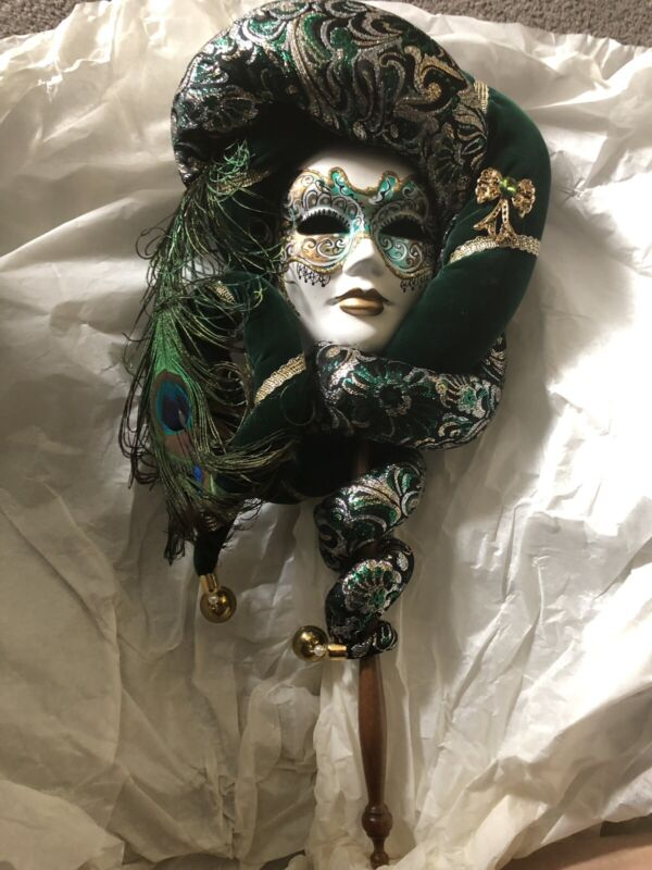 Authentic Venezia Italy Decorative Mask