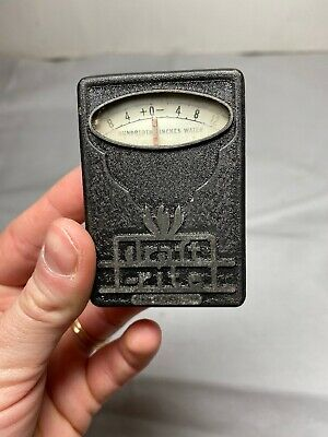 Vintage Bacharach Draft-rite Pocket Guage Manometer Chimmney Pipe Flues Fire Z3