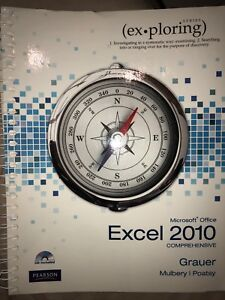 Microsoft Office Excel 2010 Comprehensive