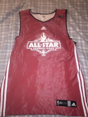 Adidas NBA Fusion 2009 Phoenix NBA All-Star Game Reversible Practice Jersey SZ L