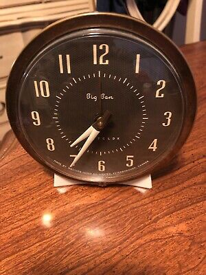 Vintage Westclox Big Ben Alarm Clock Wind-Up TESTED! -
