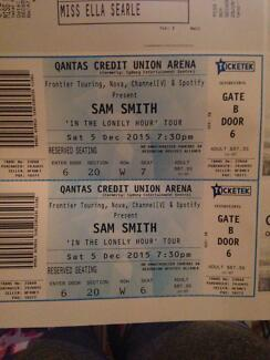 2x SAM SMITH RESERVED SEATING SOLD OUT TICKETS Newport Pittwater Area Preview