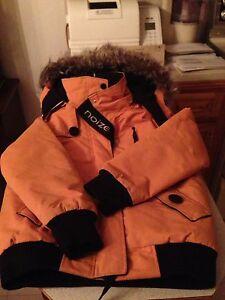 Manteau d'hiver pour enfant avec capuchon