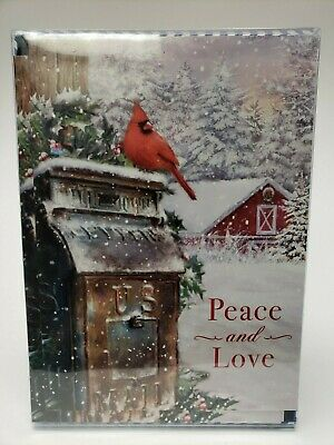 14 Christmas Cards and Envelopes (New Boxed) Navidad, Xmas, Holidays, Greeting ()