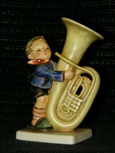 "HUMMEL FIGURINE #437 ""Tuba Player"" TMK 6"