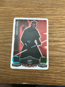 FORCE ATTAX Star Wars Movie Series 1  Darth Maul LE5  Limited Edition