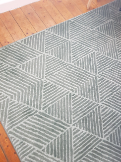Ikea rug green