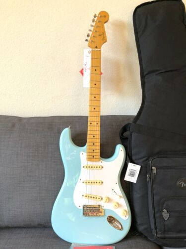 Fender Vintera '50s Stratocaster Modified Electric Guitar - Daphne Blue Strat