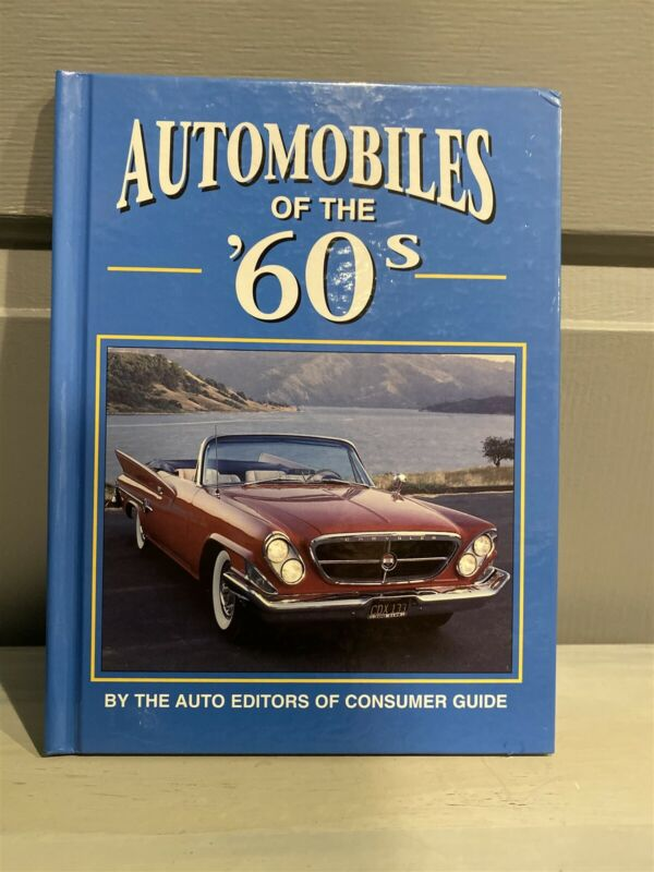 AUTOMOBILES of the 60's Book