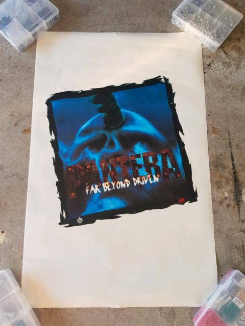 Pantera Vintage Promo Poster Far Beyond Driven Album Release