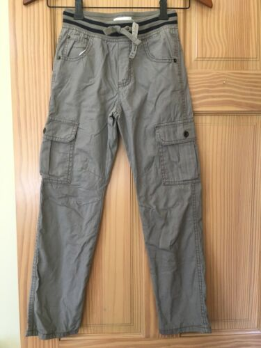 NWT Gymboree Boys Pull on Pants Jersey Lined Tan Cargo 5/6,7/8,10/12