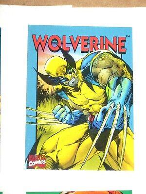 1994 MARVEL CRUNCH N MUNCH SERIES 2 PROMO COMIC 6 CARD SET WOLVERINE SPIDER-MAN  - $14.99