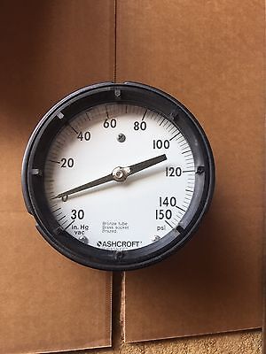 New Ashcroft Vacuum Guage 0-150 Psi Pressure Guage