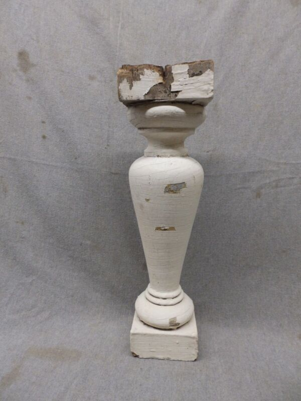 1 Antique Large Architectural Porch Baluster Shabby Spindle Chic Vtg 983-17P