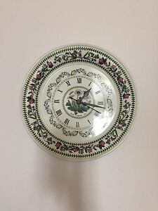 Decorative Plate Wall Clock