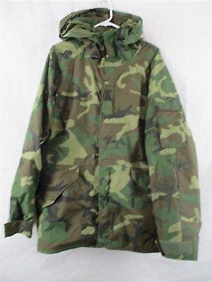 Army Gore-Tex Large Regular Parka/Coat/Jacket Woodland Camo BDU USGI