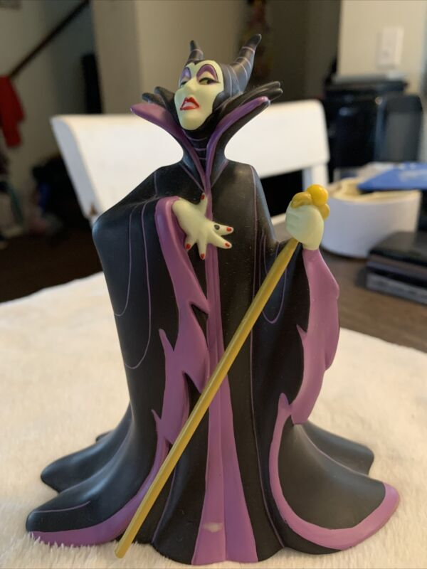 "Maleficent Figure Sleeping Beauty Story Disney Land Store statue 6"""
