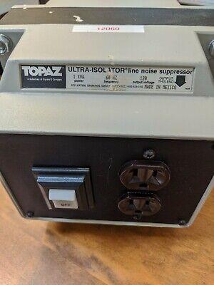 Topaz Line Suppressing Ultra Isolator 91001-12sf
