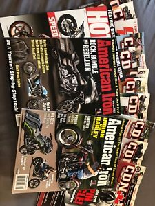 Motorcycle magazines- all types of bikes, 16 issues