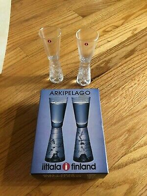 ARKIPELAGO GLASSWARE SET OF 2 GLASSES BY IITALA