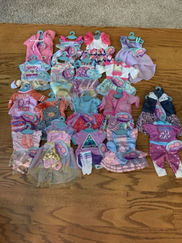 My Life as Outfits (dresses, bathing suits, ballet, summer camp and more)   NEW