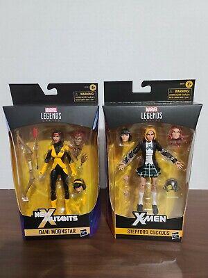 Marvel legends x-men Dani Moonstar and Stepford Cuckoos