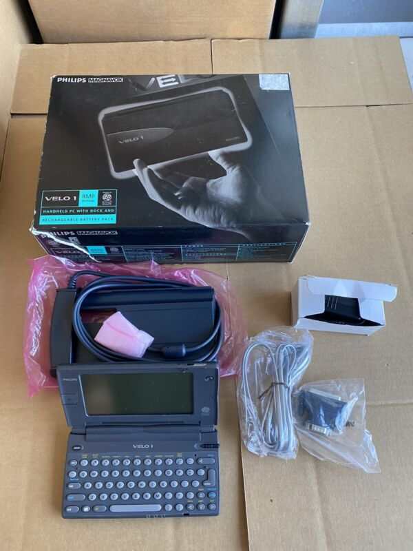 Used Philips Velo 1 8MB Handheld PC Untested Battery Corrosion