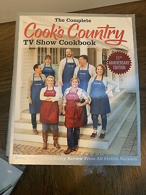 The Complete Cook's Country TV Show 816-Page Cookbook *May Be Creased At Corners