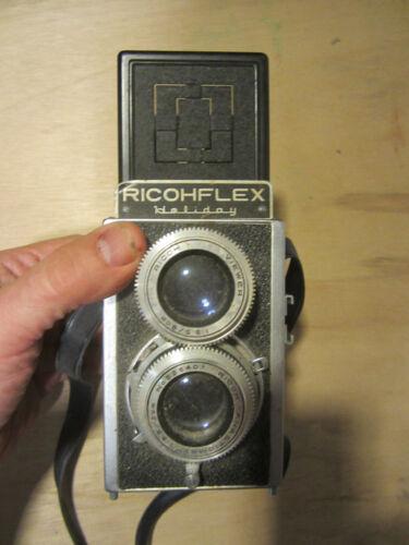 Japan Vintage Vintage Ricohflex Holiday w/ Viewer Original Owner sold As is