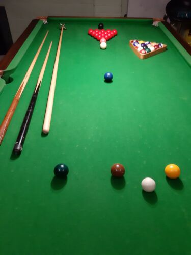 8 x 4 snooker Pool Table. Bury Lancs. May deliver.