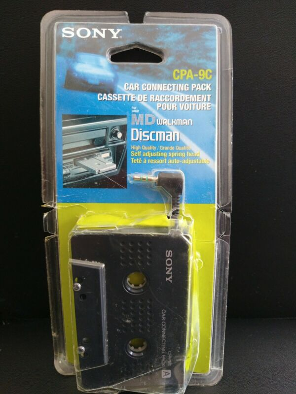 Sony Car Connecting Pack for MD / CD Walkman (CPA-9C)