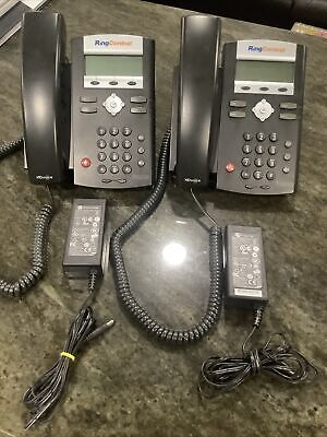 Two Ring Central Polycom Soundpoint Ip 335 Voip Telephone Business Phones