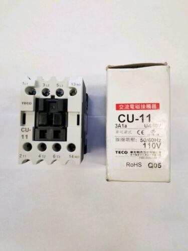 Teco CU-11, 110VAC Contactor