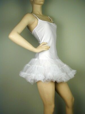 Puffy PETTICOAT DRESS White S/M & M/L](M&m Dress Costume)