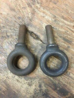 Dodge WC WWII 3/4 Ton Trailer Safety Chain Eye Bolt Set G-502 (Eye Bolt Safety)