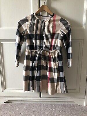 Burberry Girls Designer Dress Size 10