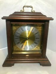 Howard Miller Dual Chime Medford Mantel Clock 612-481 Perfect Working Condition