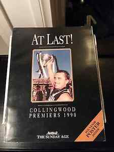 Collingwood football club 1990 premiers collectors book Boronia Knox Area Preview