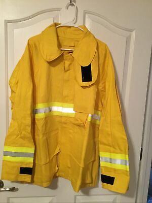 Firefighter Wildlandbrush Jacket With Reflective Stripes Size Xxl Mens 44